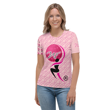 Women's T-shirt All-Over Pink Official Launch