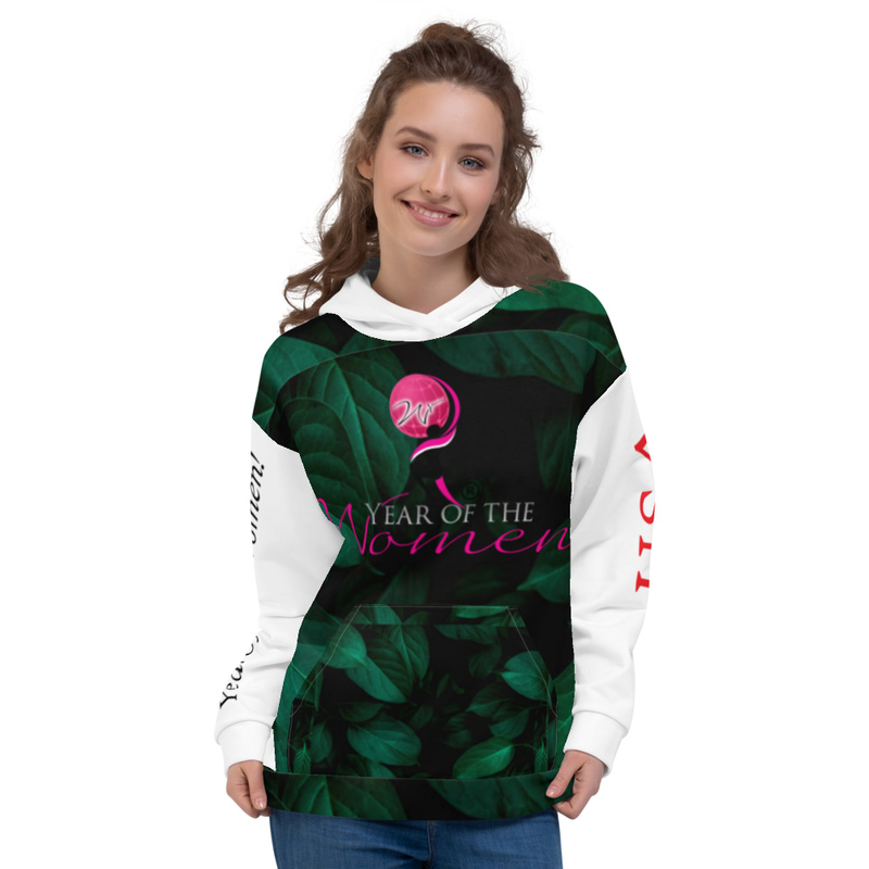 Colorful Nature Hoodie with Pocket